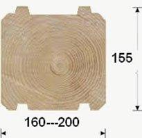 Комплект деревянного дома на экспорт