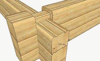 Комплект деревянного дома на экспорт цены