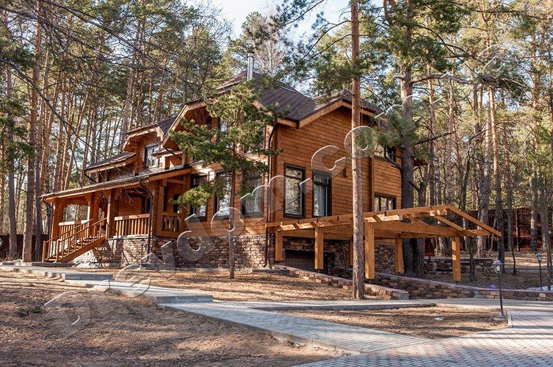 деревянный дом цена проект