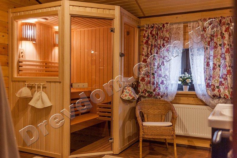деревянный дом баня заказать