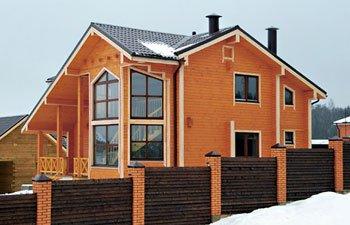 Будівництво дерев'яних будинків за низькими цінами