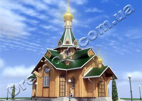храмы деревянные