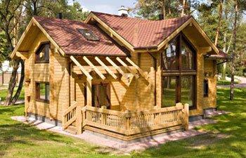 Дом из профилированного бруса