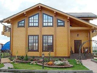 Построить дом из клееного бруса под ключ