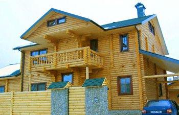Деревянный дом под ключ, цена, Украина