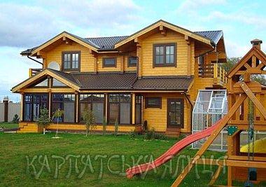 Недорогие деревянные дома под ключ